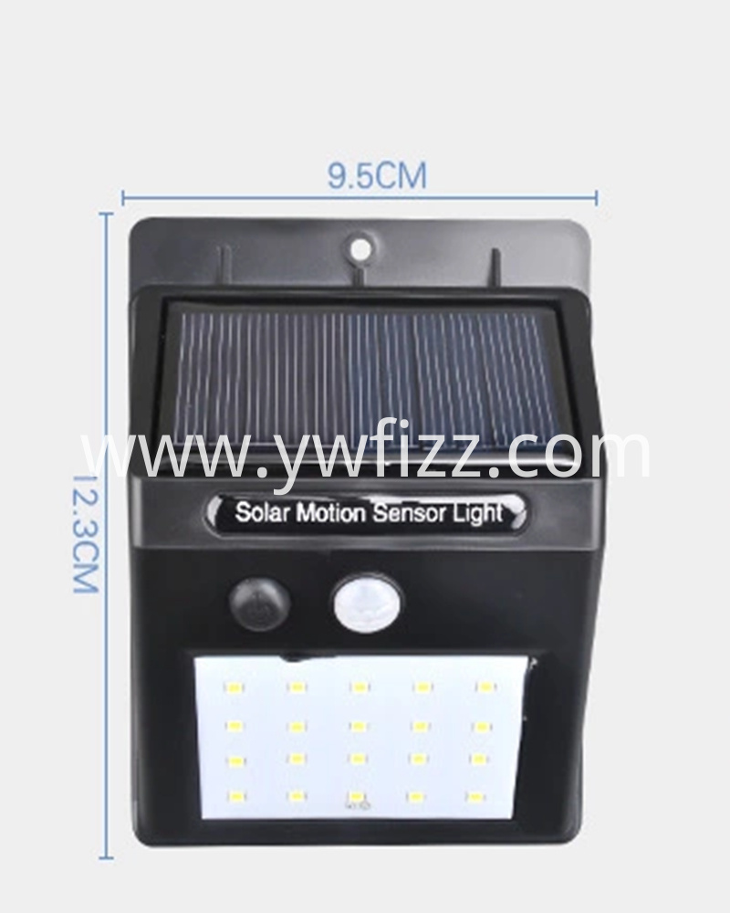 Integrated wireless solar wall lamp